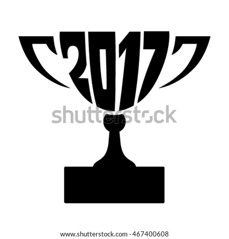 Date two thousand seventeenth year inscribed in form of winner cup, prize for Games, World and regional championships, international sports, dance, music competitions and various other competitions