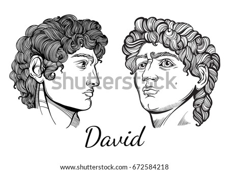 david the mythological hero of