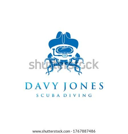 davy jones modern logo