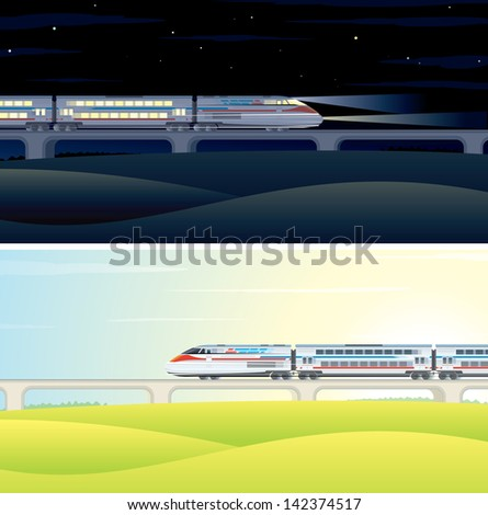 day and night high speed train
