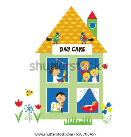 day care or kindergarten