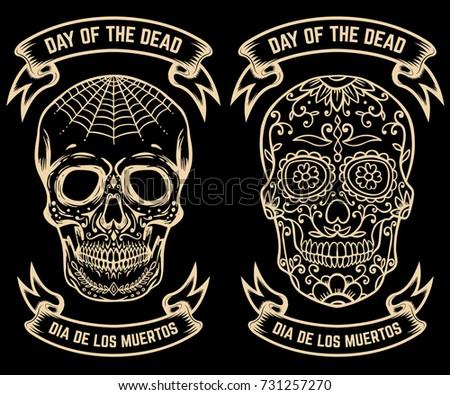 free dia de los muertos sugar skull vector download free vector