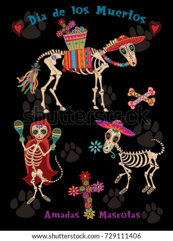 day of the dead honoring pets