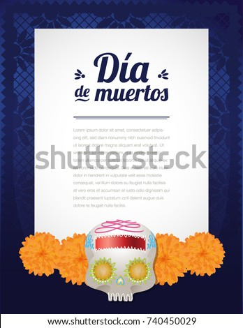 day of the dead letter