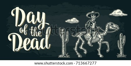 day of the dead lettering the