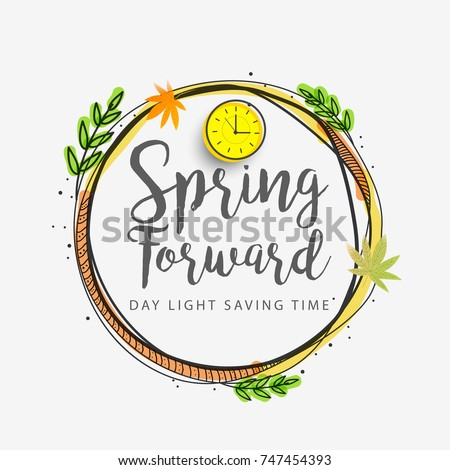 daylight saving time poster or...