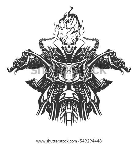 dead rider illustration