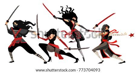 deadly female ninja