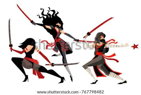 deadly women ninja