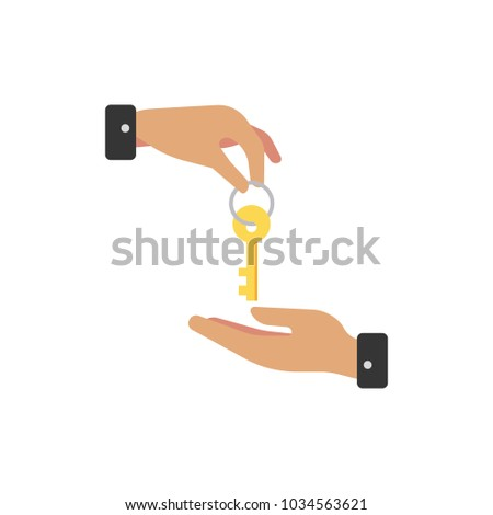 Deal icon flat symbol. Isolated vector illustration of  icon sign concept for your web site mobile app logo UI design.