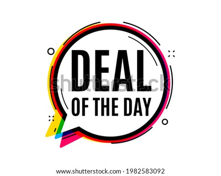 deal of the day symbol speech