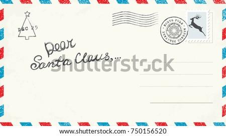 Shutterstock Dear Santa Claus Letter