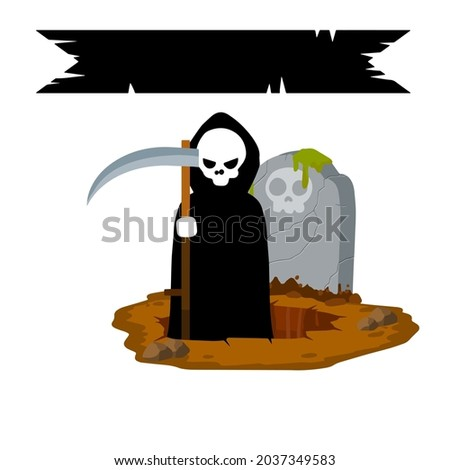 death in cemetery scary