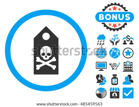 death mark icon with bonus