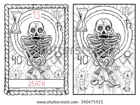death  the major arcana tarot