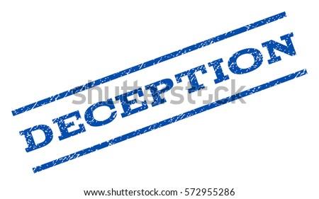 deception watermark stamp text
