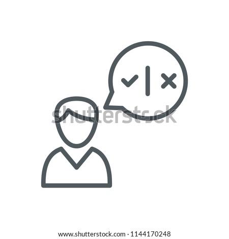 Decision Icon Design