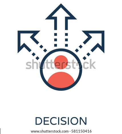 Decision Vector Icon