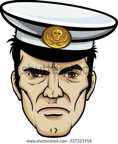 decisive strong sea captain