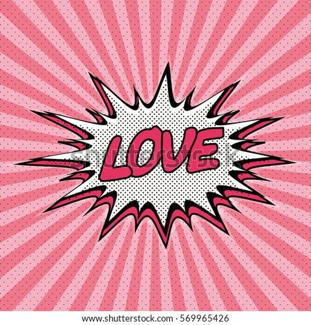 declaration of love pop art