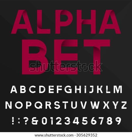 decorative alphabet font sans