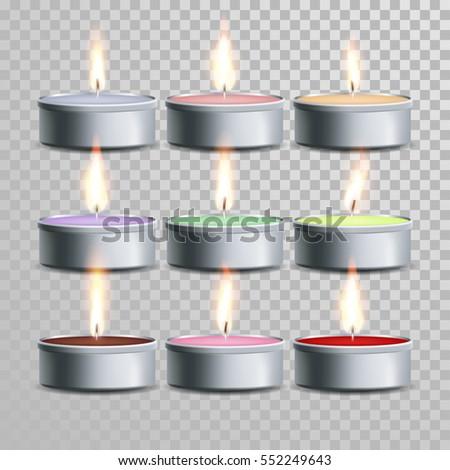 decorative aromatic tealight