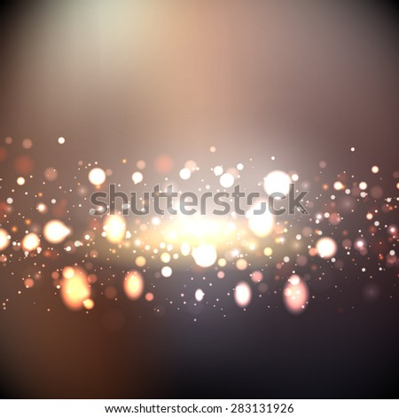 Decorative background with abstract lights design #283131926