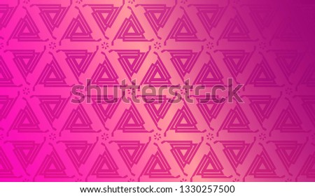 Decorative Background With Triangles. Curved Lines. Vector Illustration. Abstract Blurred Gradient Background Bright Colors.. Bright Background For Poster, Banner, Flyer.