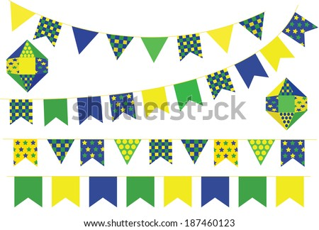 Decorative banners set vector