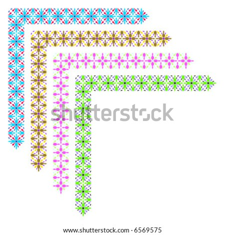 Decorative Corner Border Designs Decorative Border Corner