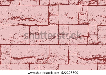 decorative brick wall color