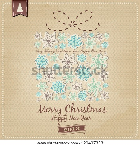Decorative Christmas Gift Background