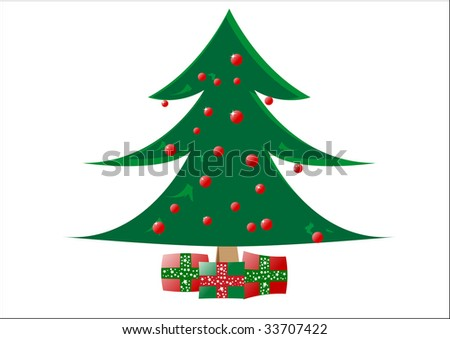 tree clip art. christmas tree clipart.