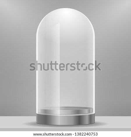 Decorative Clear Glass Cloche Bell Jar Display Case