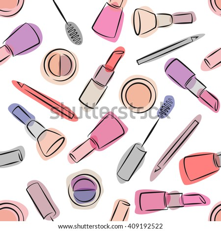 decorative cosmetics seamless