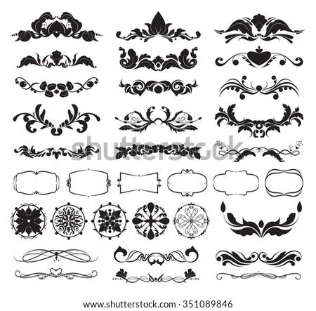stock-vector-decorative-design-elements