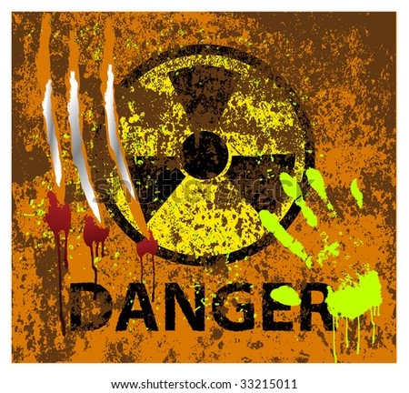Decorative elements of danger to the design.