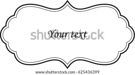 decorative frame set download free vector art stock graphics images
