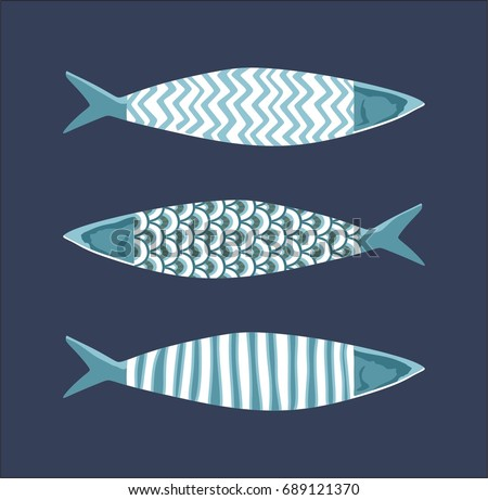 decorative hand drawn pattern