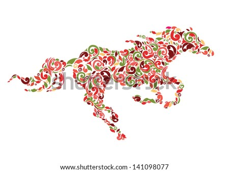 Decorative horse Animal decorative ornament