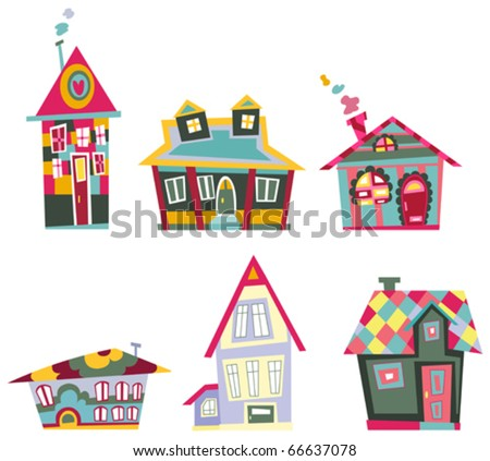 Decorative house set