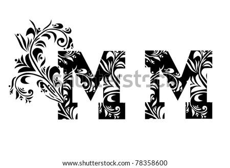 Decorative letters stock vector ãƒâ€šã'â yael weiss