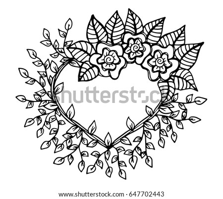 decorative love frame