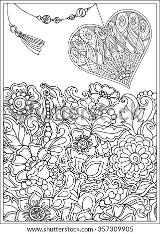 older valentines day coloring pages - photo#3