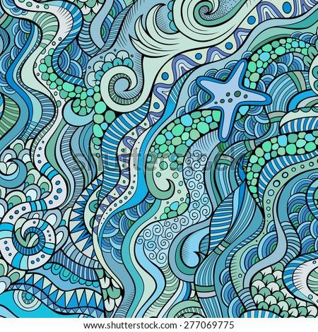 decorative marine sea life