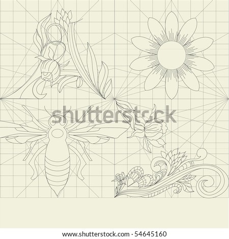 Decorative ornament - stock vector