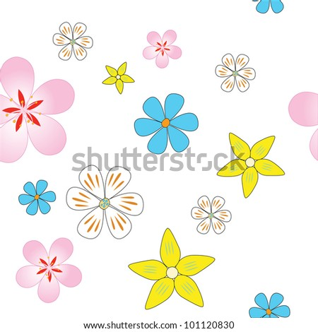 decorative ornament, symbol of flowers, art