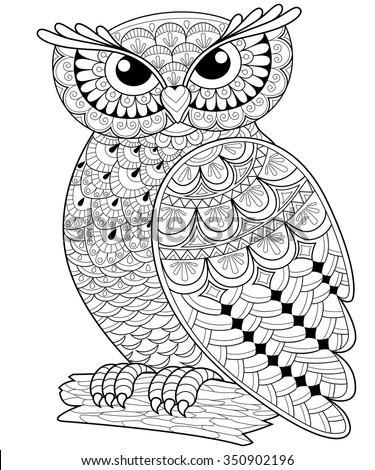 decorative owl adult