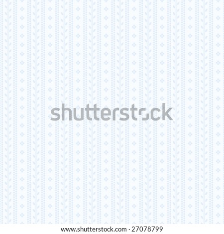Decorative pale blue baby lace background pattern - stock vector