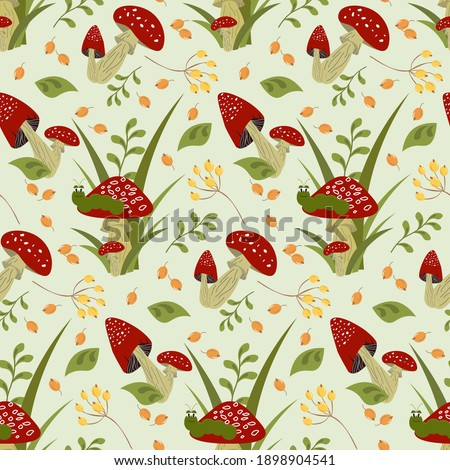 decorative pattern with red